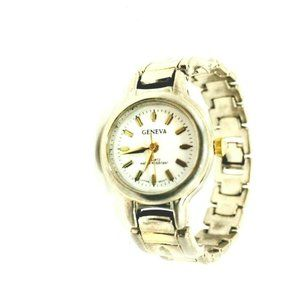 Geneva Watch Quartz Water Resistant Woman's Vintag